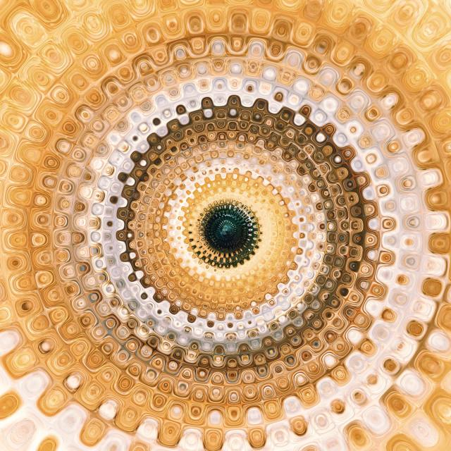 """Continuum (Spiral)"" stock image"