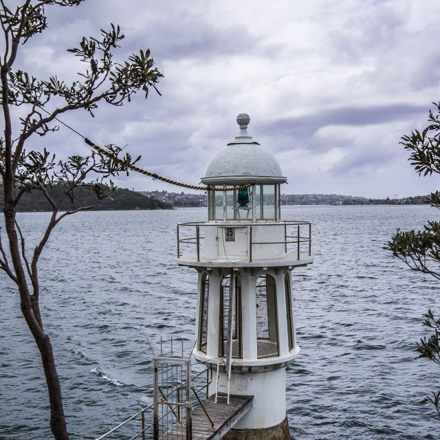 """Lighthouse, Cremorne Reserve, Sydney"" stock image"