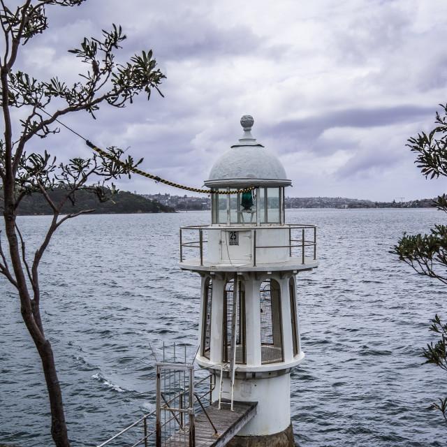 """Lighthouse, Cremorne Reserve, Sydney"" stock image"