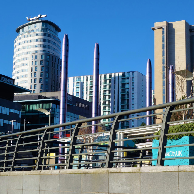 """Salford Quays,"" stock image"