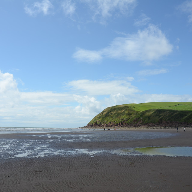 """St Bees Head"" stock image"