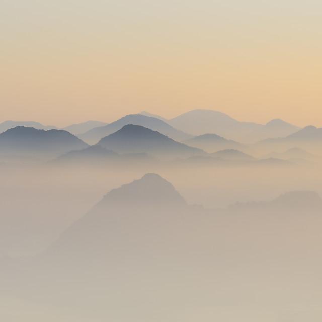 """Gentle fog"" stock image"