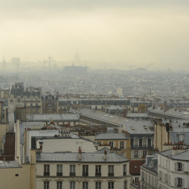 """Paris Smog"" stock image"