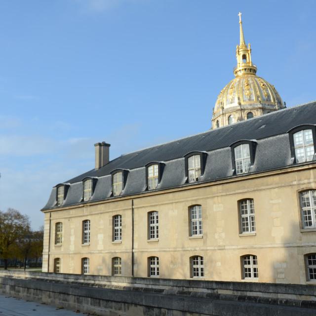 """""""Les Invalides, Paris"""" stock image"""