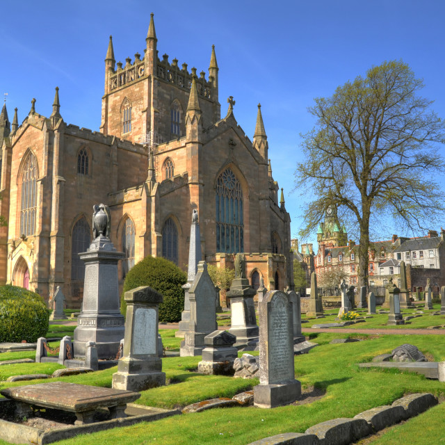 """Dunfermline Abbey"" stock image"