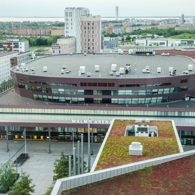 """""""Malmö Arena"""" stock image"""