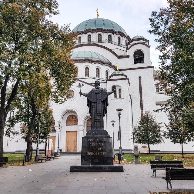 """Church of Saint Sava / Belgrade Cathedral"" stock image"
