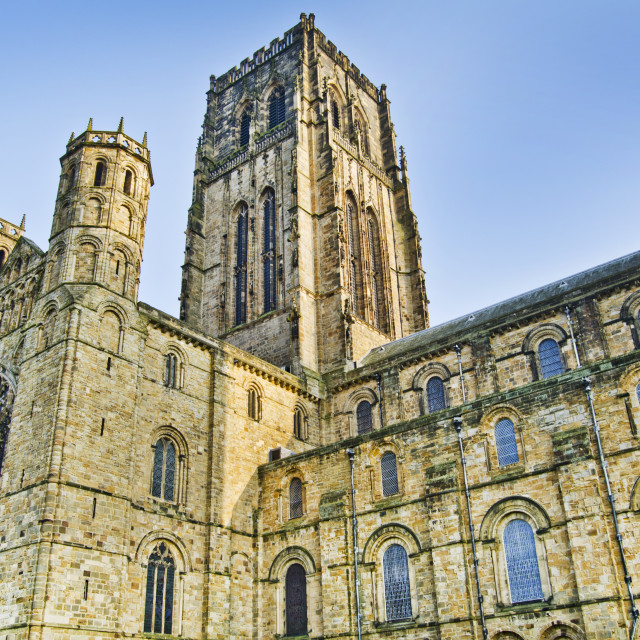"""Durham Cathedral"" stock image"