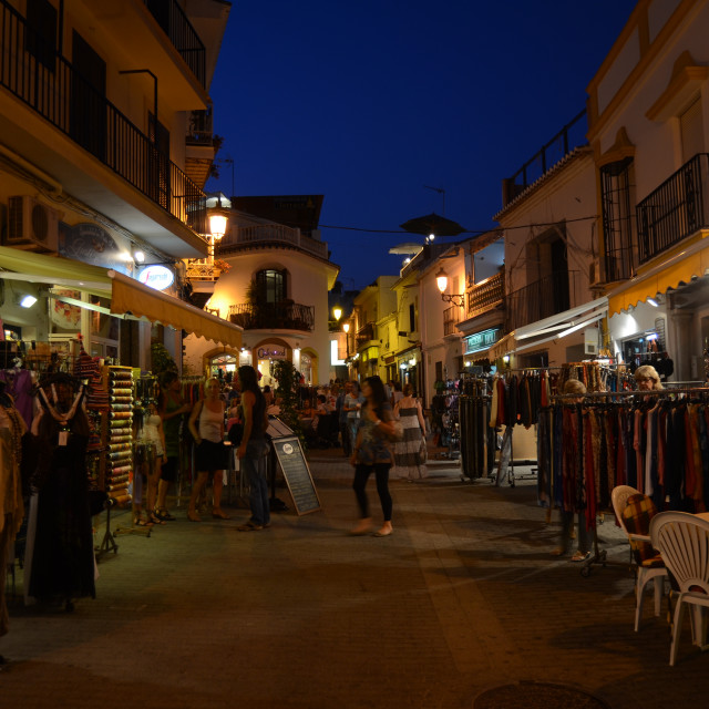 """Nerja, Malaga Province"" stock image"