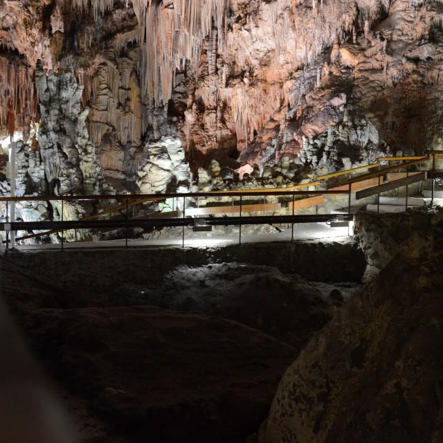 """Nerja Caves, Malaga Province"" stock image"