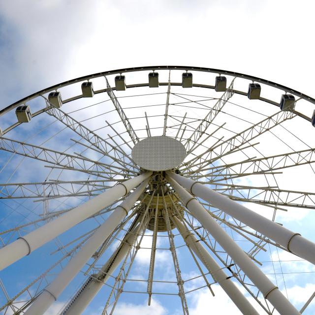 """Baku Wheel"" stock image"