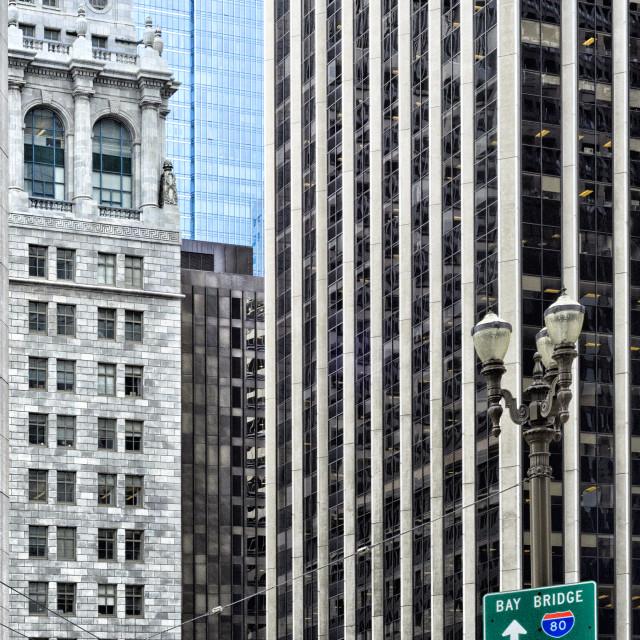 """Downtown San Francisco"" stock image"