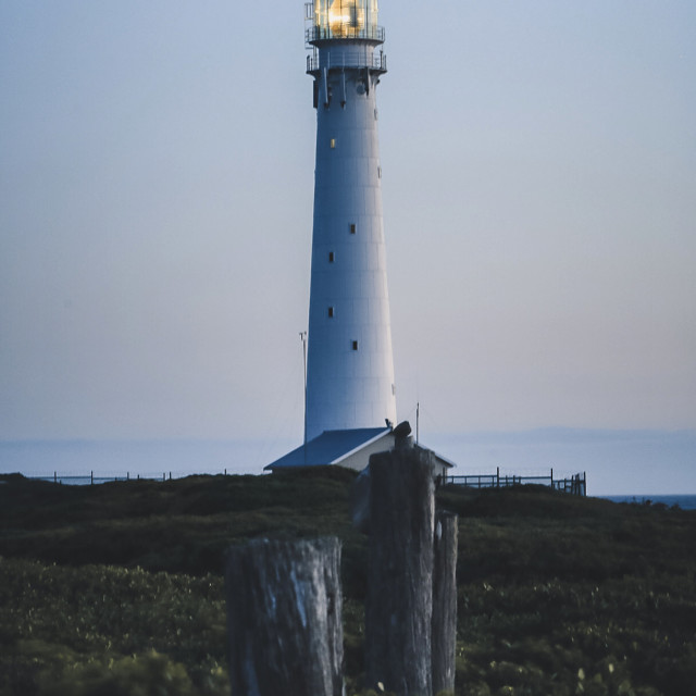 """Slangkop Lighthouse"" stock image"