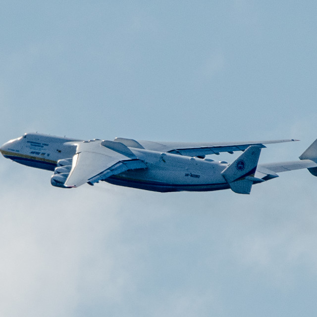 """Antonov An-225 Mriya In Flight"" stock image"