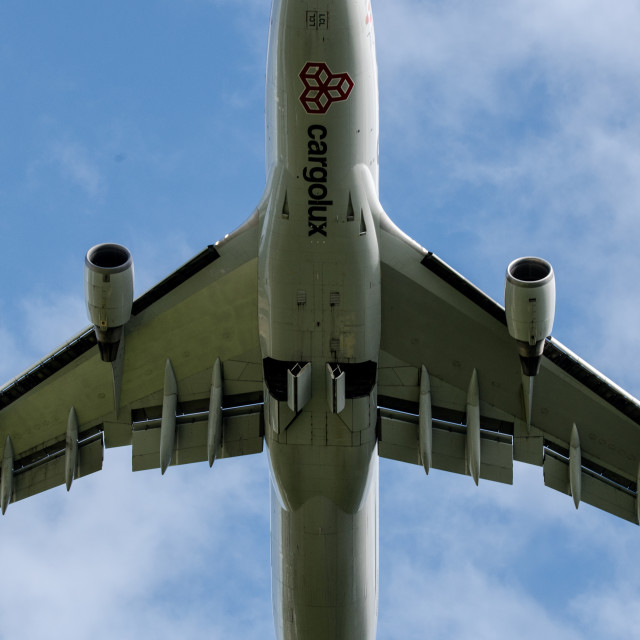 """Boeing 747"" stock image"