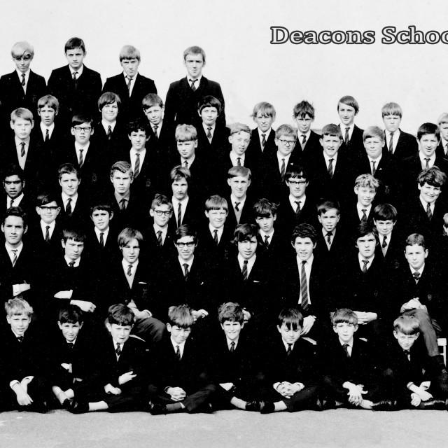 """""""Deacons School 1969"""" stock image"""