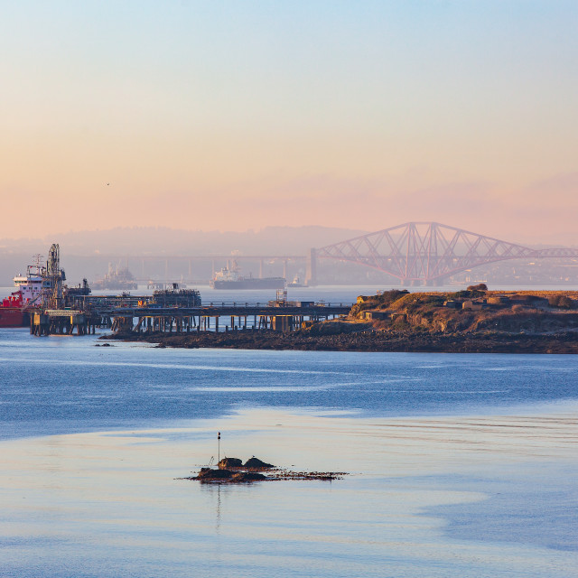 """River Forth, Scotland"" stock image"