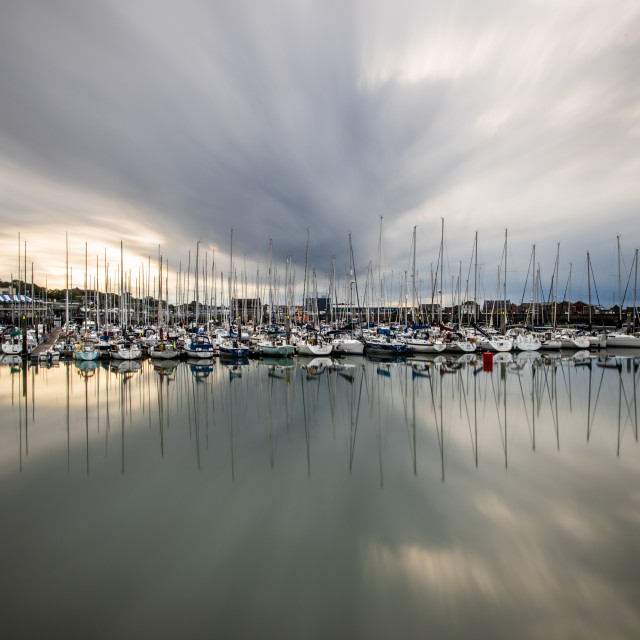 """""""Howth Harbour"""" stock image"""