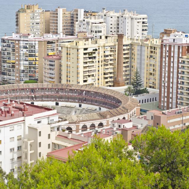 """Malaga, Spain"" stock image"
