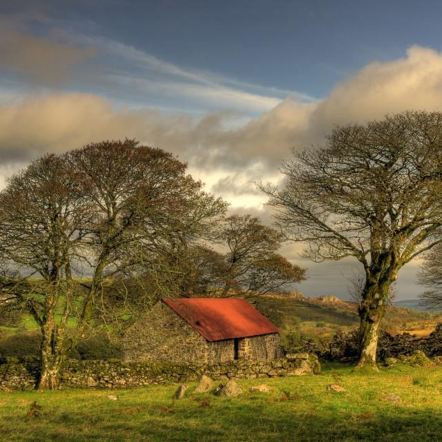 """Emsworthy Barn"" stock image"