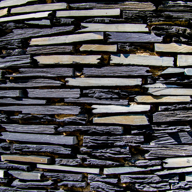 """""""Photograph of Slate Sculpture Detail"""" stock image"""