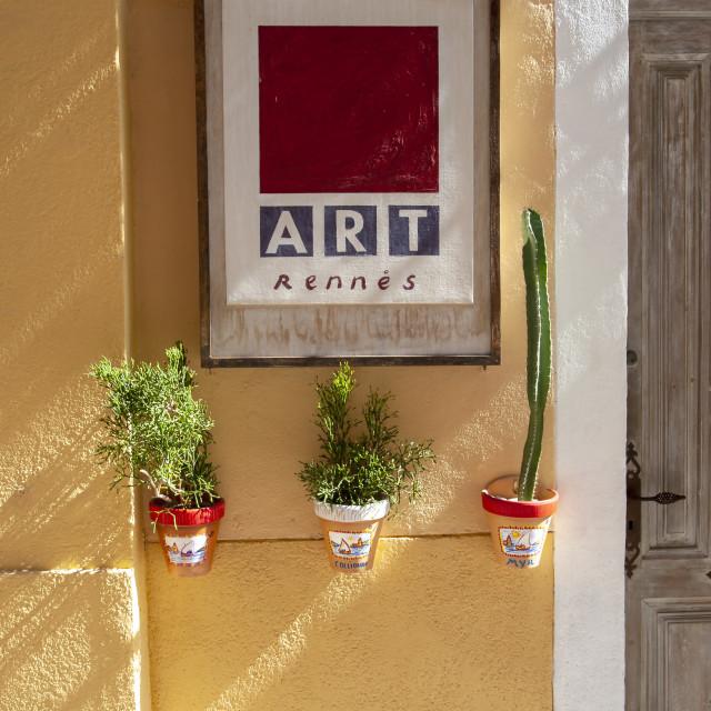 """Street art"" stock image"