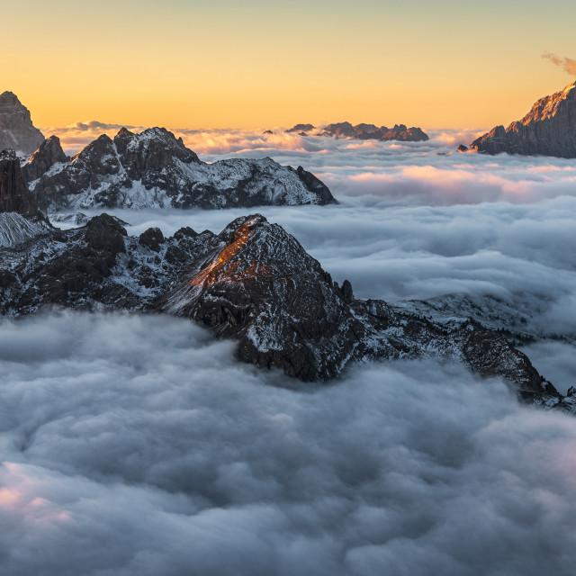 """Sea of Cloud"" stock image"