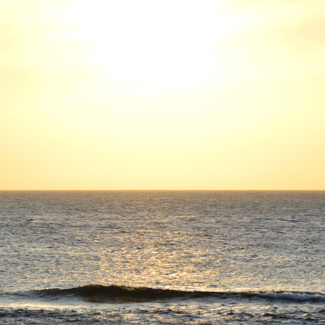 """Atlantic Ocean Sunset"" stock image"