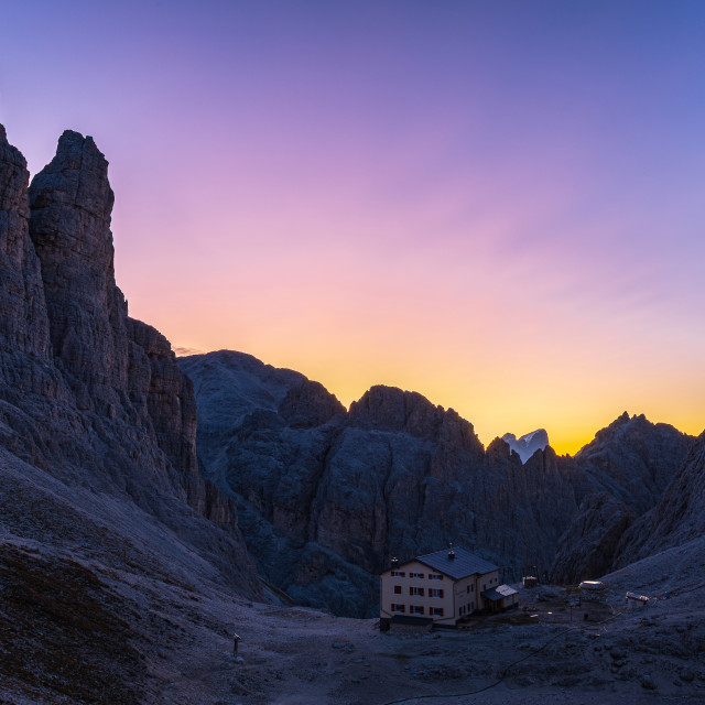 """Alpine Dawn"" stock image"