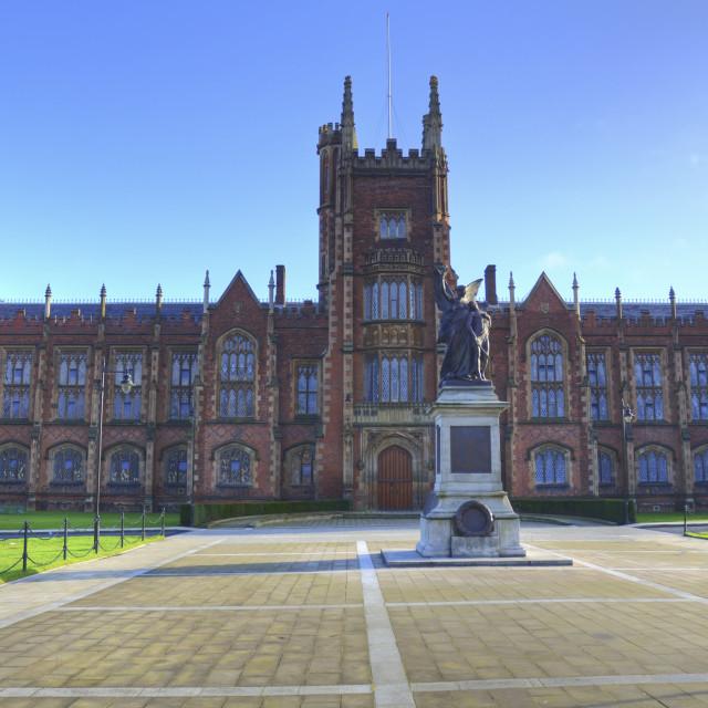 """""""Queen's University, Belfast"""" stock image"""