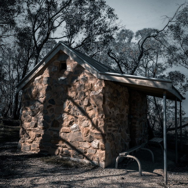 """Little stone cottage"" stock image"