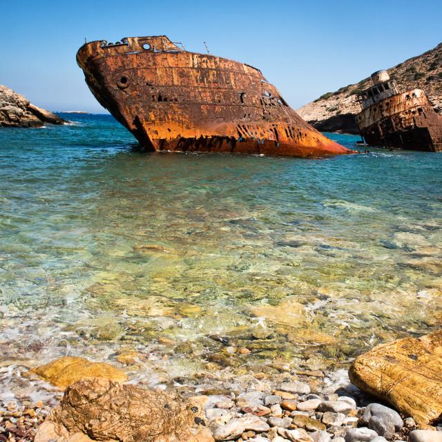 """Shipwreck"" stock image"