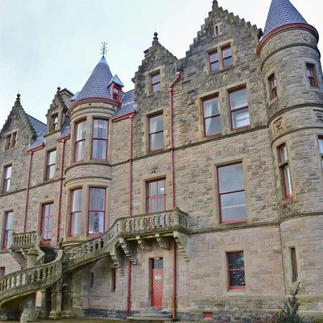 """Belfast Castle"" stock image"