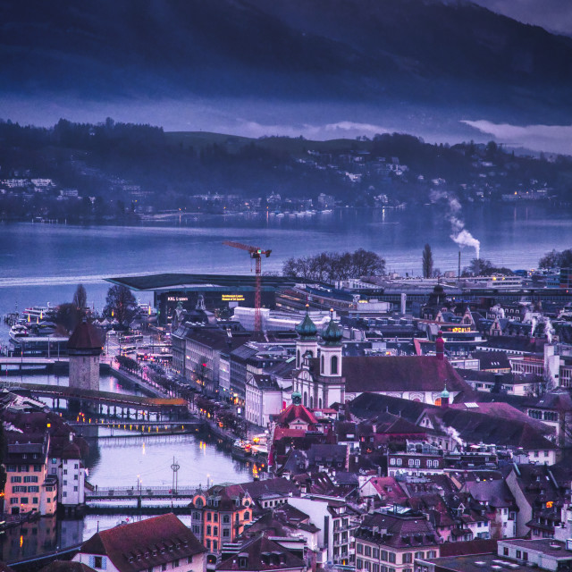 """""""Early Lucerne"""" stock image"""