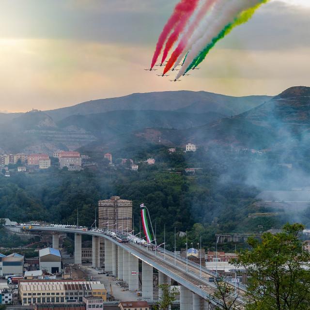 """""""Tricolor arrows"""" stock image"""