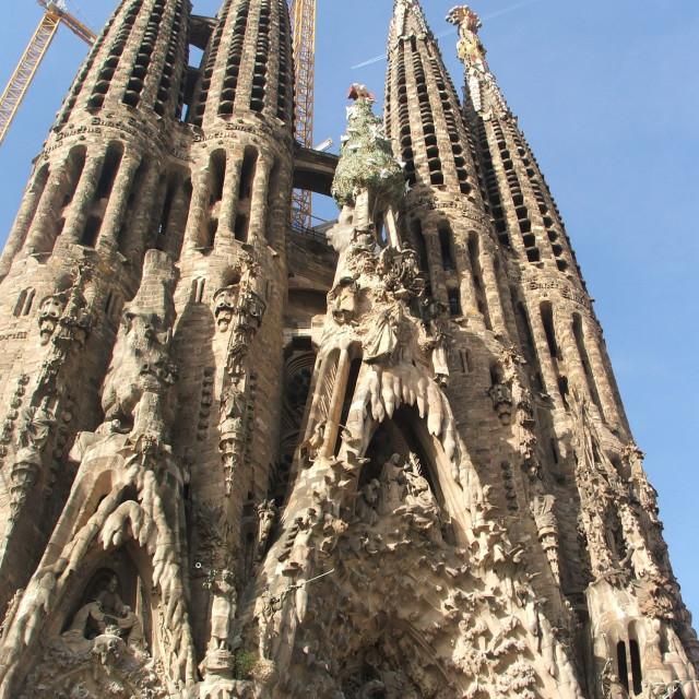 """""""La Sagrada Familia"""" stock image"""