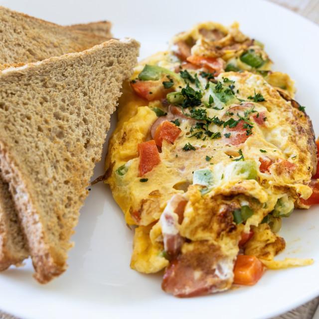 """""""Omelette"""" stock image"""