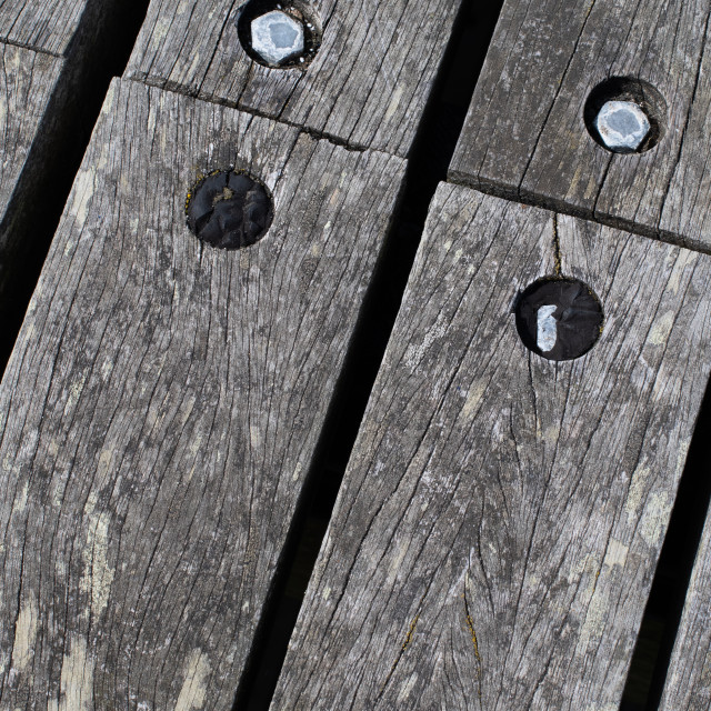 """Boardwalk detail"" stock image"