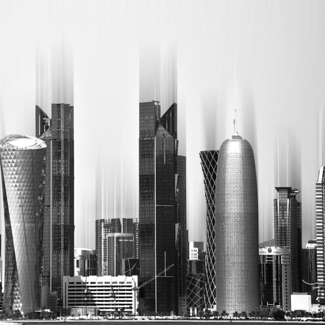 """""""Doha 2010"""" stock image"""
