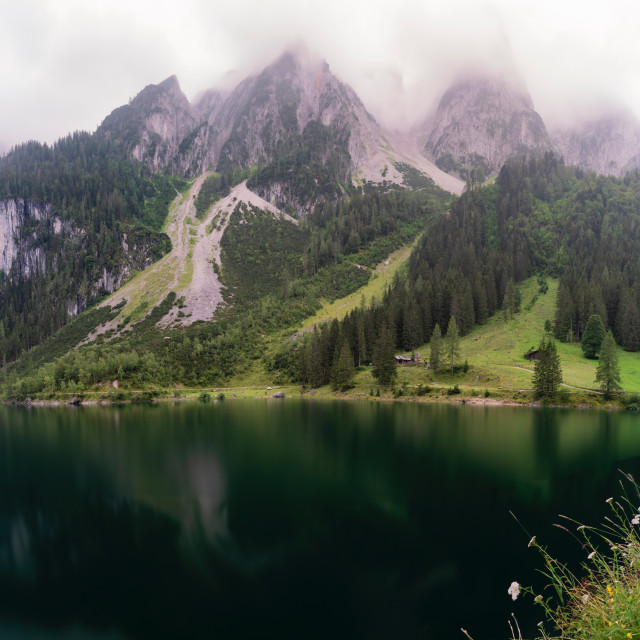 """Gosausee"" stock image"