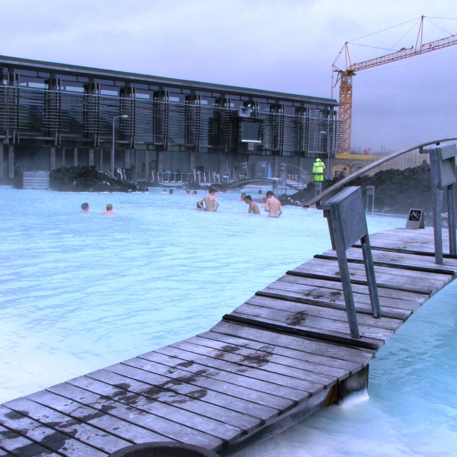 """Blue Lagoon, Iceland"" stock image"