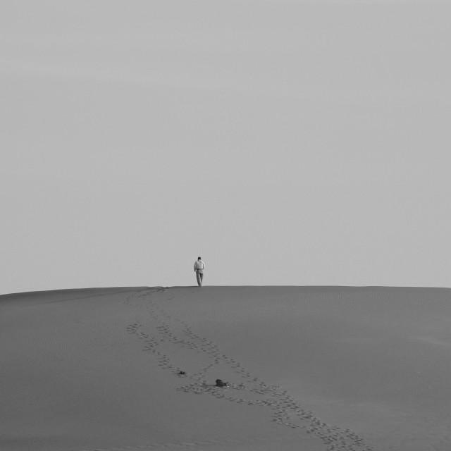 """Loneliness"" stock image"