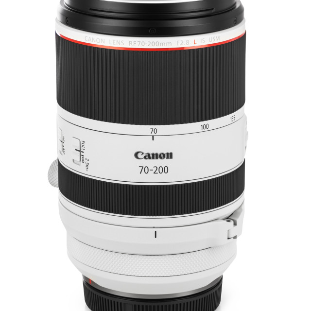 """Varna, Bulgaria - August 05,2020: Image of Canon RF 70-200mm f"" stock image"