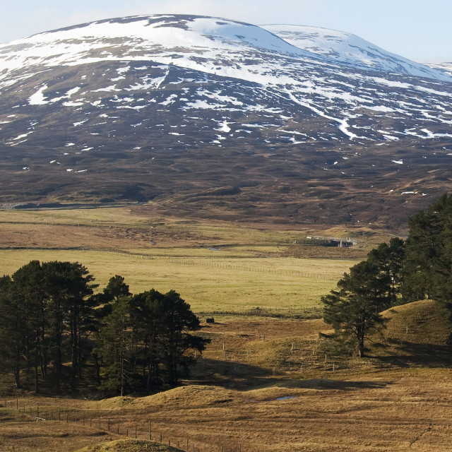 """""""Drumochter Pass View"""" stock image"""