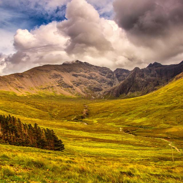 """Highlands"" stock image"