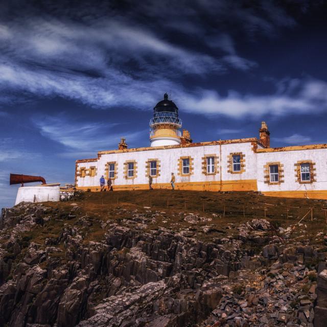 """""""Neist Point Lighthouse"""" stock image"""