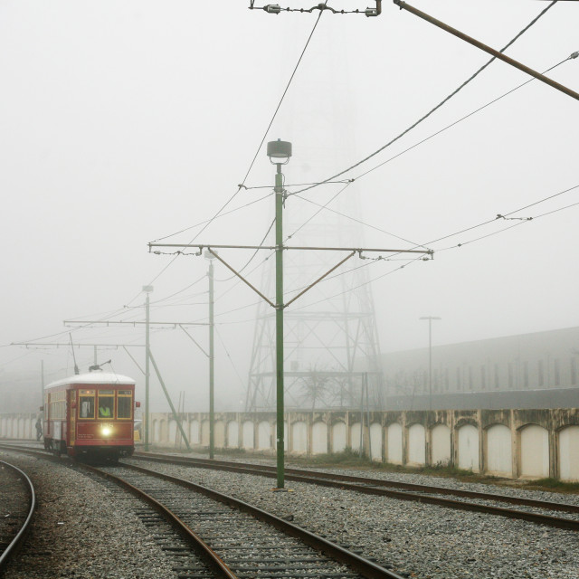 """""""New Orleans Tram"""" stock image"""