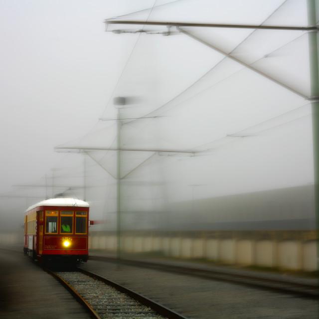 """Tran Track"" stock image"