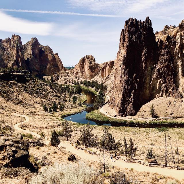 """""""Desert Valley"""" stock image"""