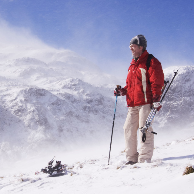 """""""Great Outdoors in Winter"""" stock image"""